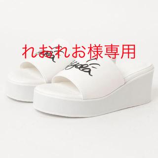 GYDA - GYDA Platform sandals  ホワイト Lサイズ