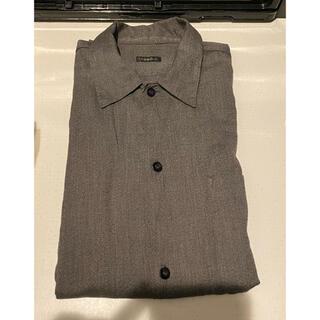 コモリ(COMOLI)のサイズ1 COMOLI 20AW ヨリ杢 オープンカラーシャツ(シャツ)