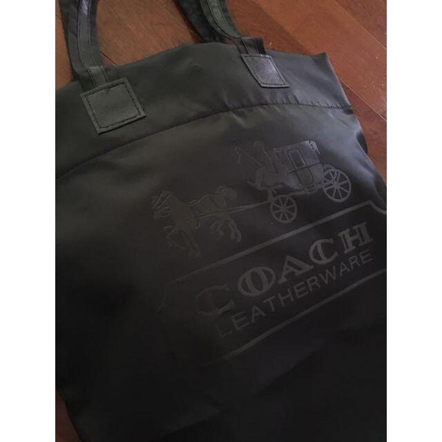 COACH(コーチ)の【新品】コーチ ショッピングバッグ トートバッグ レディースのバッグ(エコバッグ)の商品写真