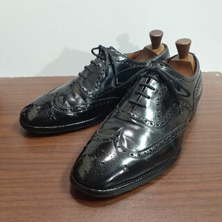 Church's - [貴重] 都市無し 旧旧旧チャーチ 73ラスト ビンテージ 革靴 レザーシューズ