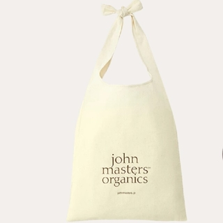 ジョンマスターオーガニック(John Masters Organics)の【新品】オリジナル ショルダー エコバッグ マイバッグ コットン製(エコバッグ)