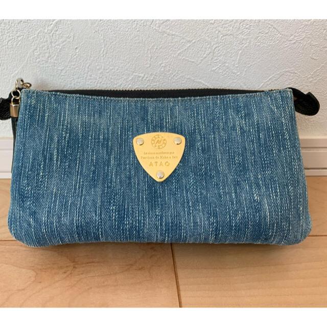 ATAO(アタオ)の最終値下げ‼︎ATAO Boo Boo 岡山デニム レディースのバッグ(ショルダーバッグ)の商品写真