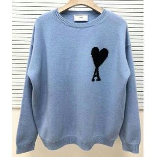 アクネ(ACNE)のAMI ALEXANDRE MATTIUSSI ロゴ セーター(ニット/セーター)