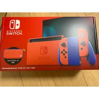 ニンテンドースイッチ(Nintendo Switch)のNintendo Switch ニンテンドースイッチ マリオレッド×ブルーセット(家庭用ゲーム機本体)