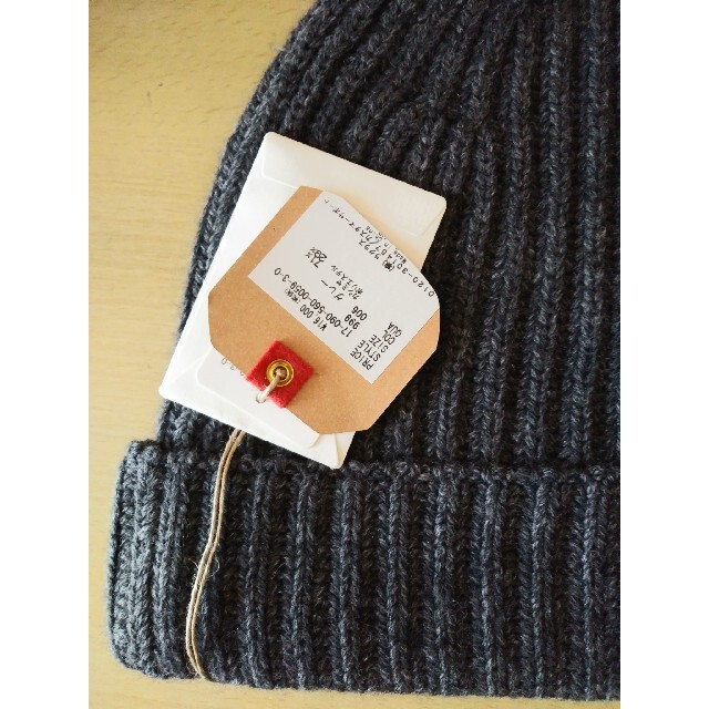 DEUXIEME CLASSE(ドゥーズィエムクラス)の★新品、タグ付き★ドゥーズィエムクラス ニットキャップ レディースの帽子(ニット帽/ビーニー)の商品写真