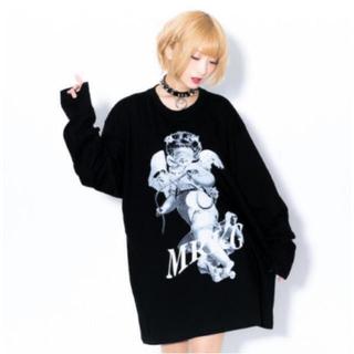 MILKBOY - TRAVAS TOKYO トラバストーキョー   『堕天使』  新品 天使ロンT