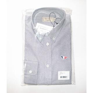メゾンキツネ(MAISON KITSUNE')のmaison kitsune キツネ オックスフォード シャツ size39(シャツ)