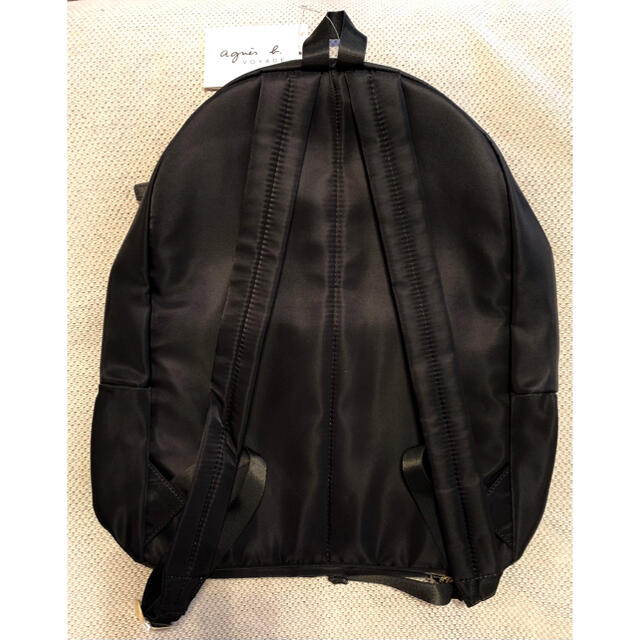 agnes b.(アニエスベー)のagnes b. リュック ブラック 新品未使用品  レディースのバッグ(リュック/バックパック)の商品写真