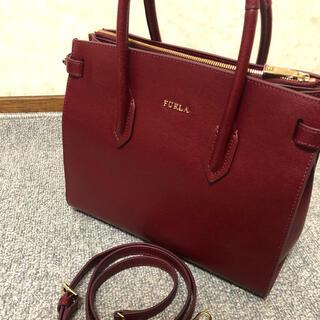 Furla - 【極美品】FURLA PIN S ハンドバッグ ショルダーバック