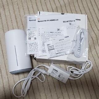 ファーウェイ(HUAWEI)のUQ WiMAX Speed Wi-Fi HOME L02(PC周辺機器)