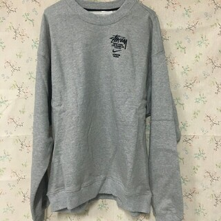 STUSSY - STÜSSY / NIKE NRG ZR CREW FLEECE GREY