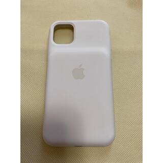 アップル(Apple)の【純正】iPhone11 スマートバッテリーケース ホワイト(iPhoneケース)