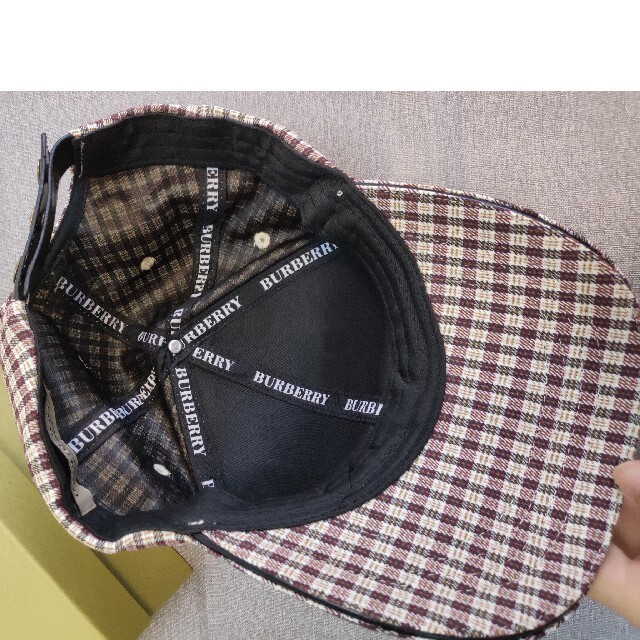 BURBERRY(バーバリー)のキャップ Burberry メンズの帽子(キャップ)の商品写真