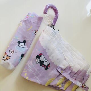 ディズニー(Disney)のディズニー ミッキーマウス ツムツム 折りたたみ傘 (傘)