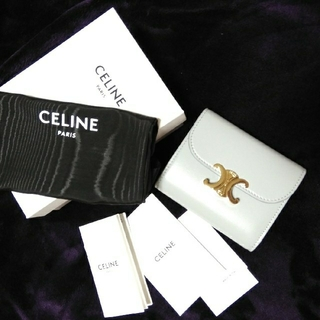 celine - CELINEセリーヌ 新色トリオンフ ウォレット 新品
