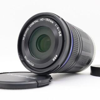 オリンパス(OLYMPUS)の【新品級】 OLYMPUS M.ZUIKO ED 40-150mm 望遠レンズ(レンズ(ズーム))