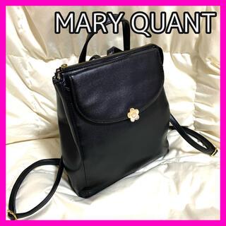 MARY QUANT - MARY QUANT ラウンドフラップデイジー リュック