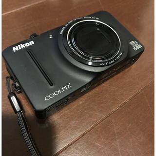 Nikon - Nikon COOLPIX S9300 black 中古 コンパクトデジカメ