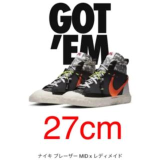 ナイキ(NIKE)のNike × READYMADE Blazer Mid ナイキ×レディーメイド(スニーカー)