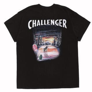 schott - challenger schott コラボ Tシャツ ショット チャレンジャー