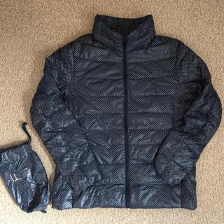 UNIQLO - ユニクロ 女性XL ウルトラライトダウンジャケット ネイビー 美品/インナー