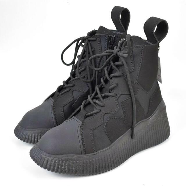 JULIUS(ユリウス)のJULIUS/ユリウス 20AW サイドジップレースアップブーツ メンズの靴/シューズ(ブーツ)の商品写真
