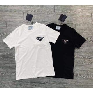 PRADA - 2枚8000円送料無料 プラダ 1902 半袖/Tシャツ ロゴ