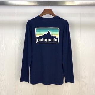 patagonia - patagonia(パタゴニア)の1枚patagoniaブラック 長袖ロ
