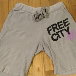Free city パイル地ショートパンツ