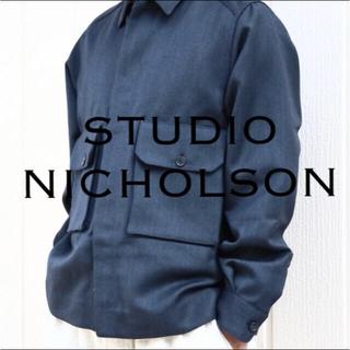1LDK SELECT - STUDIO NICHOLSON/CARBON OVERSIHRT 定価6.5万