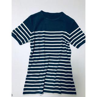 ジャンポールゴルチエ(Jean-Paul GAULTIER)のイタリア製 ボーダーTシャツ ゴルチエ (Tシャツ(半袖/袖なし))