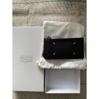 Maison Martin Margiela - メゾンマルジェラ フラグメントケース 小銭入れ付きカードケース ブラック レザー