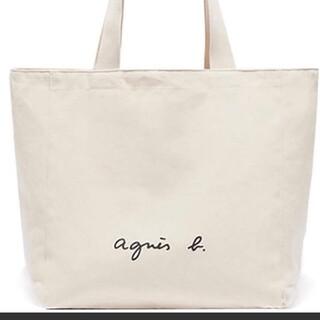 agnes b. - agnes b. アニエスベー トートバッグ カバン リュック ショルダー 白