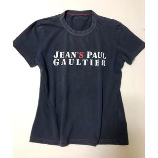 ジャンポールゴルチエ(Jean-Paul GAULTIER)のイタリア製 ゴルチエ ジーンズライン ロゴTシャツ(Tシャツ(半袖/袖なし))