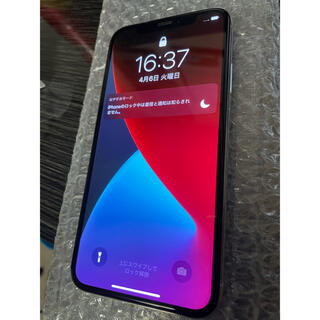 アップル(Apple)のiPhone X Silver 64GB SIMフリー どりーむ様専用(スマートフォン本体)