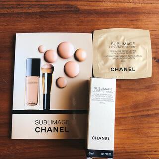 CHANEL - CHANELサブマリージュファンデーション&日焼け止め乳液
