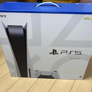 プレイステーション(PlayStation)のPS5 本体 新品未使用未開封(家庭用ゲーム機本体)