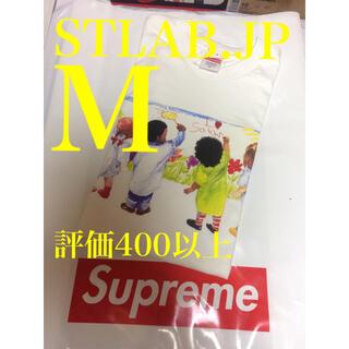 シュプリーム(Supreme)の白 M 19SS Supreme Kids Tee キッズ Tシャツ(Tシャツ/カットソー(半袖/袖なし))