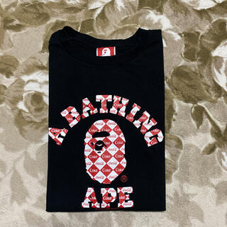 A BATHING APE - APE BAPE KAWS COCA  COLA コカコーラ Tシャツ 2XL