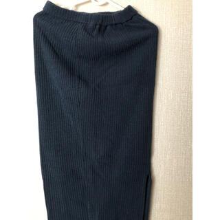 GU - GU ニット膝丈スカート