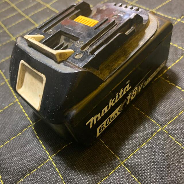 Makita(マキタ)のマキタ 18V 6ah バッテリー スマホ/家電/カメラのスマートフォン/携帯電話(バッテリー/充電器)の商品写真