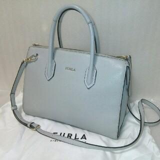Furla - 【極美品! お値引き可】Furla pin サッチェルM 2wayバッグ