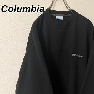 Columbia - Mサイズ 古着 コロンビア スウェット メンズライク トレーナー ワンポイント