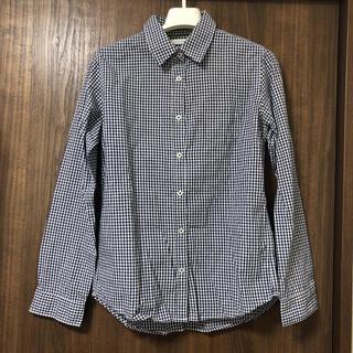 LOWRYS FARM - ローリーズファーム ギンガムチェックシャツ 紺