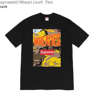 シュプリーム(Supreme)の21SS supreme Wheaties Tee ブラック L  シュプリーム(Tシャツ/カットソー(半袖/袖なし))