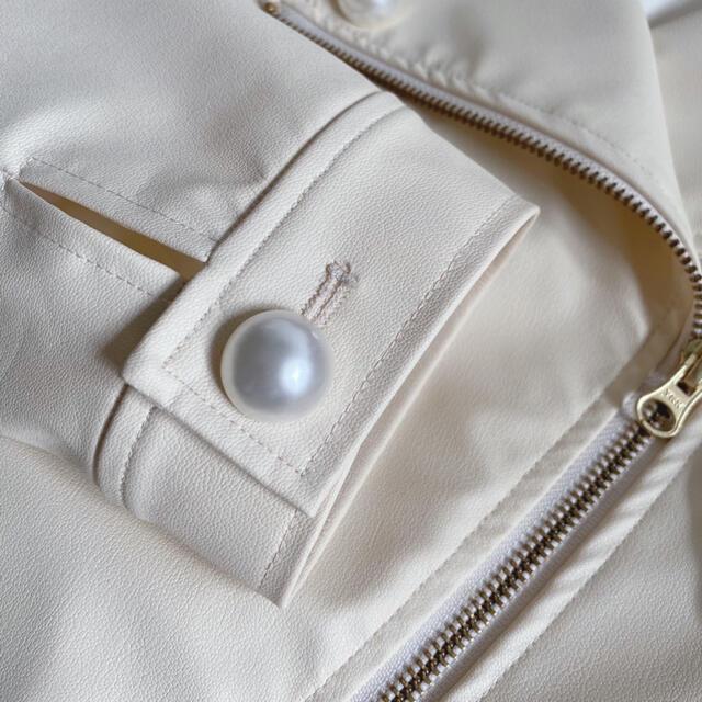 Angelic Pretty(アンジェリックプリティー)のDoll's ribbon ライダース レディースのジャケット/アウター(ライダースジャケット)の商品写真