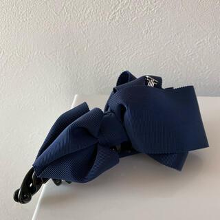 ランバンオンブルー(LANVIN en Bleu)のランバンバナナクリップ(バレッタ/ヘアクリップ)