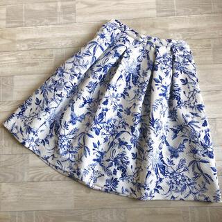 STRAWBERRY-FIELDS - 【STRAWBERRYFIELDS】ストロベリー 花柄スカート