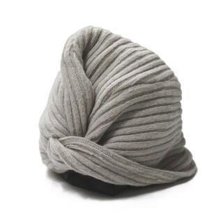 La Maison de Lyllis ターバンニットキャップ 帽子 レディース