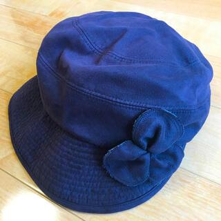 帽子 キャスケット レディース 黒